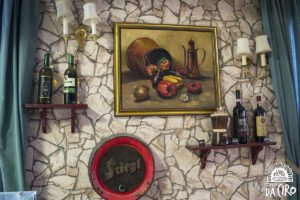Pizzeria Da Ciro - Wanddekoration