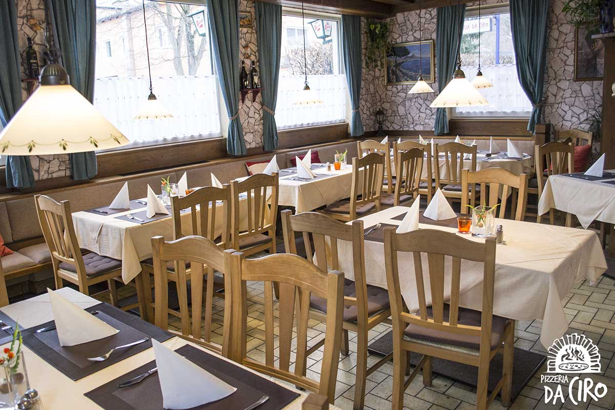 Pizzeria Da Ciro - Innenbereich