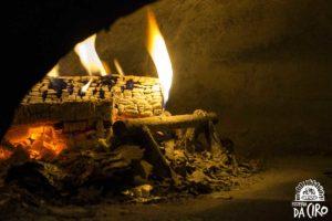 Pizzeria Da Ciro - Feuer im Steinofen